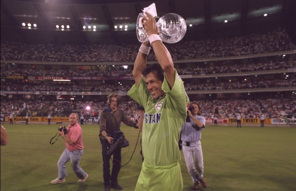 Imran Khan Lifts World Cup